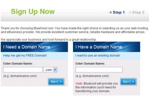 bluehost-sign-up-step-1