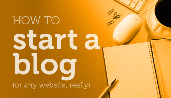 How to Start a Blog Brian Manon