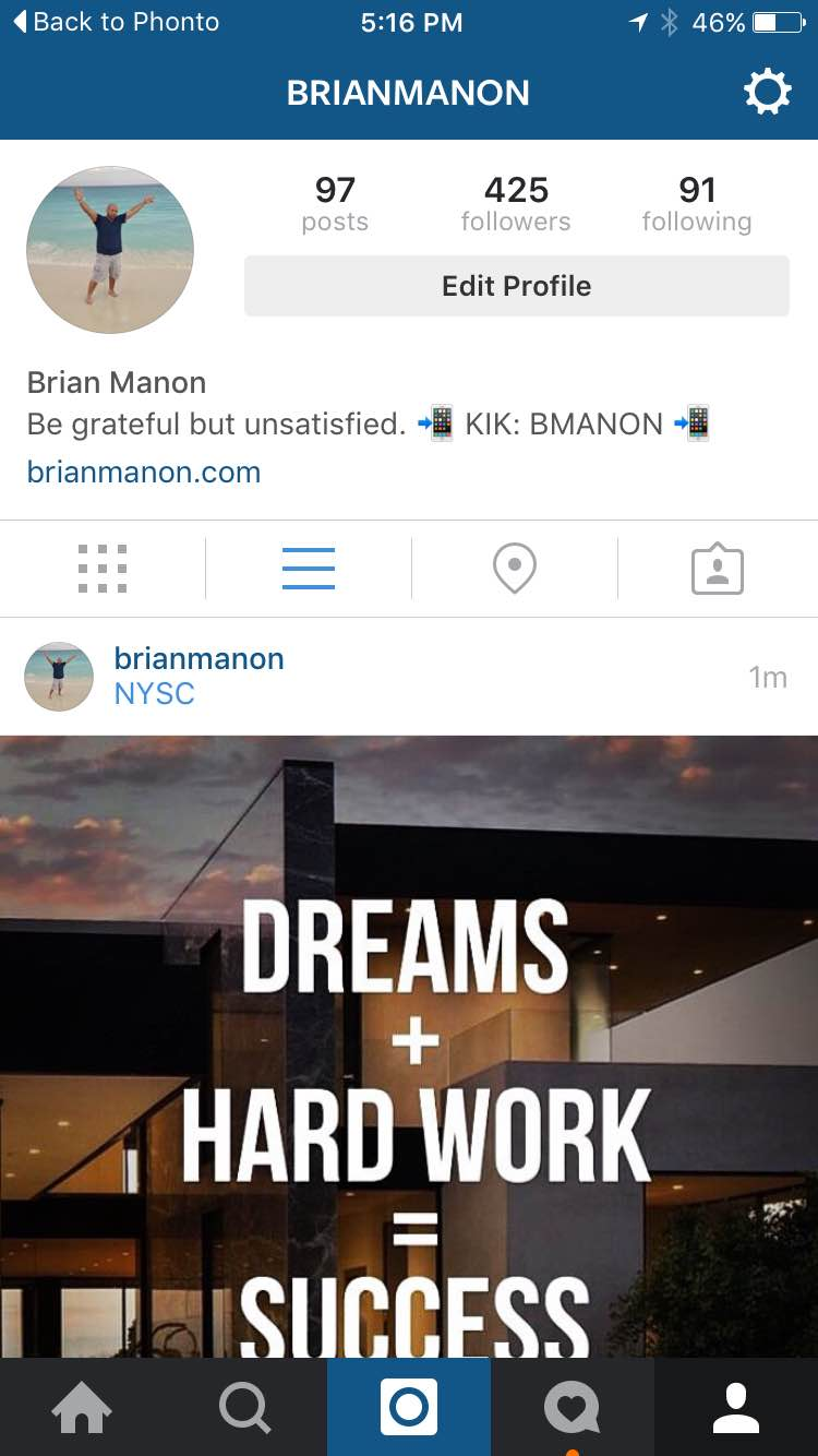 how to delete an instagram bussiness page