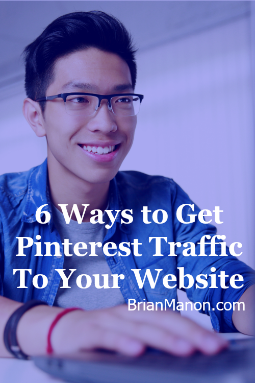 I've always wondered how to get Pinterest traffic to my website. These tips are a great start.