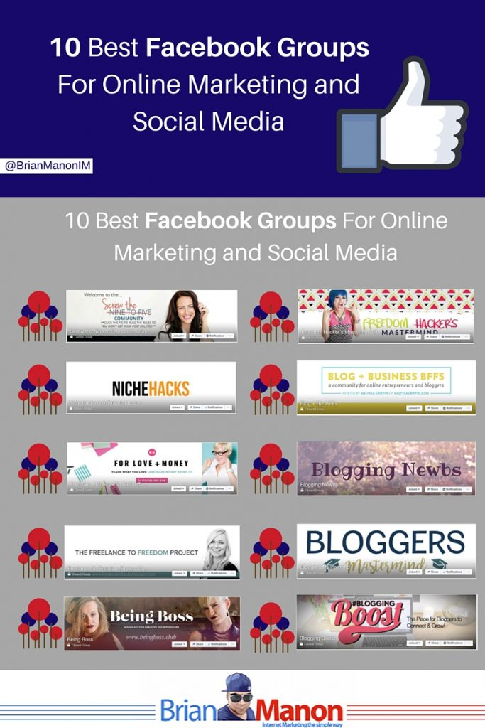 10 Best Facebook Groups For Online Marketing and Social