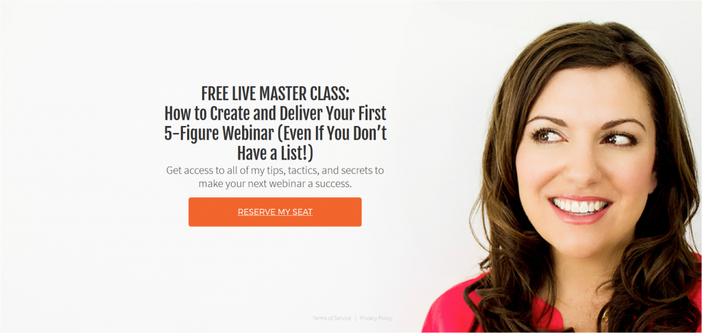 Amy Porterfield Landing Page Screenshot
