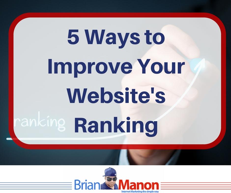 5-ways-to-improve-your-websites-ranking